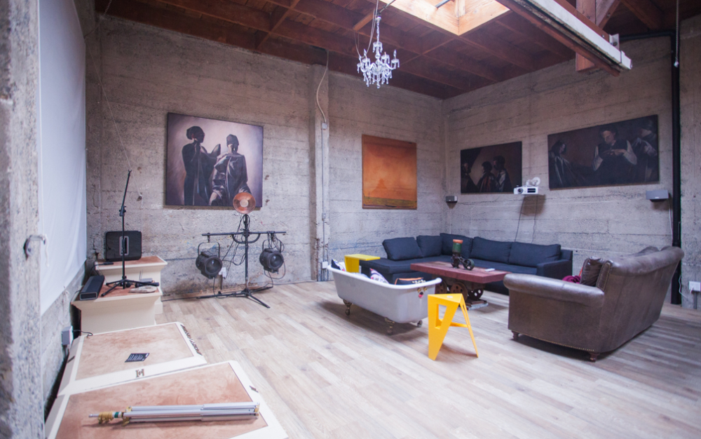 the garage  luxury live  work warehouse  san francisco